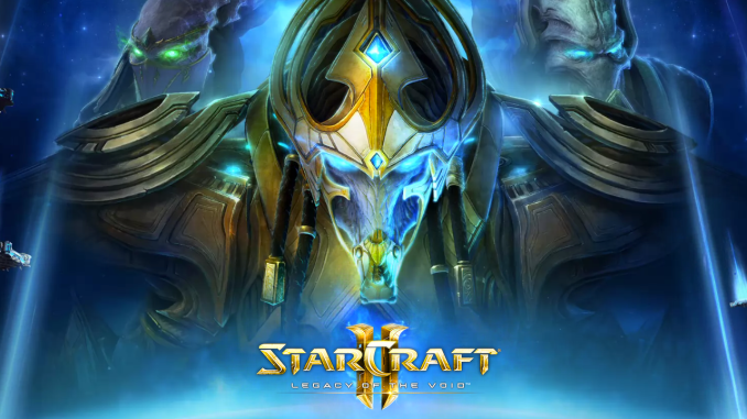 star craft legacy of the void