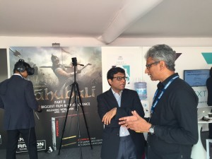 Raja and India Ambassador to France - Cannes 2016