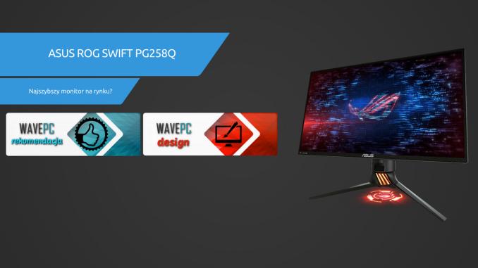 Miniatura ASUS ROG SWIFT PG258Q Dobra 2