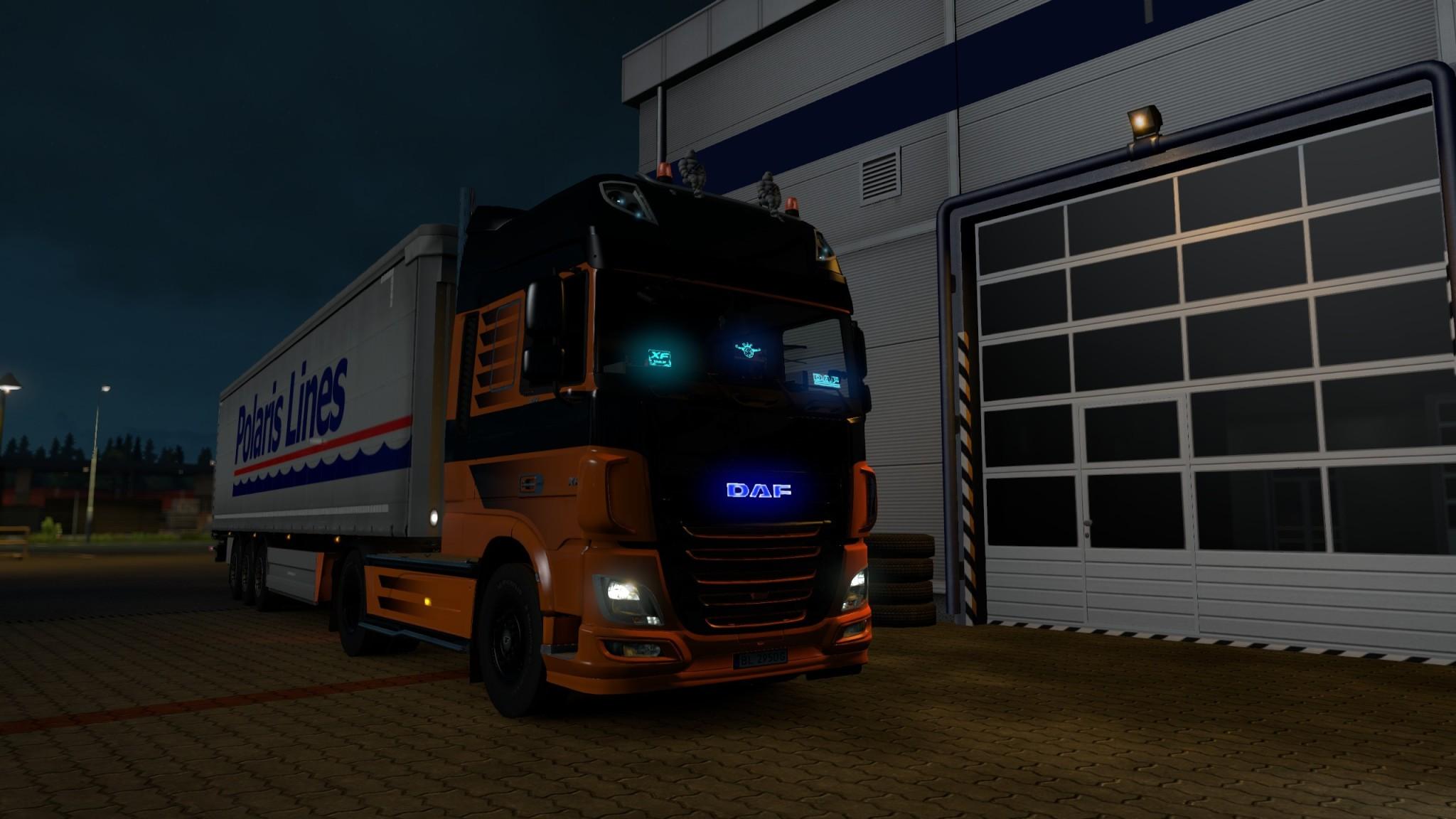 Euro Truck Simulator 2 - DAF Tuning Pack - DAF XF Euro 6