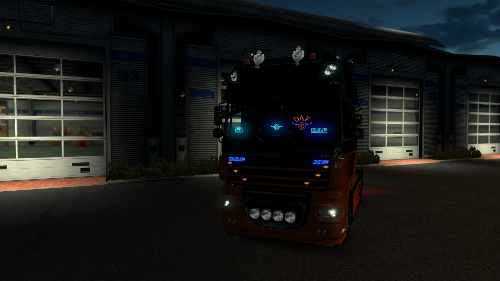 Euro Truck Simulator 2 - DAF Tuning Pack - DAF XF105